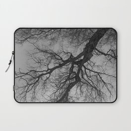 Lungs of the Earth | Nature Photography | Weeping Willow | Black and White | black-and-white | bw Laptop Sleeve