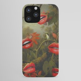 JUNGLE OF THE CARNIVORES iPhone Case