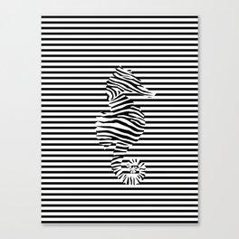Zebra seahorse op art iphone skin by vision society6 zebra seahorse op art canvas print thecheapjerseys Gallery