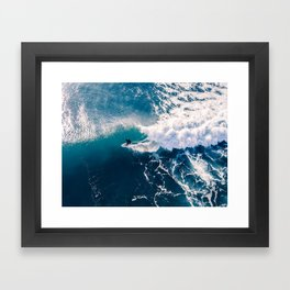 Charging it Framed Art Print