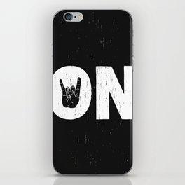 Rock On iPhone Skin