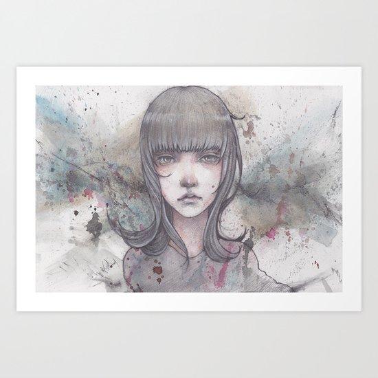 passed away Art Print