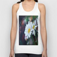 daisies Tank Tops featuring Daisies  by ANoelleJay