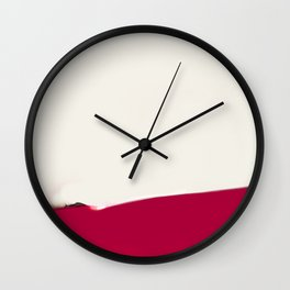 LONG TIME TO TOMORROW - #9 ASHTRAY Wall Clock