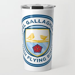 Noel Gallagher's High Flying Birds Crest Travel Mug