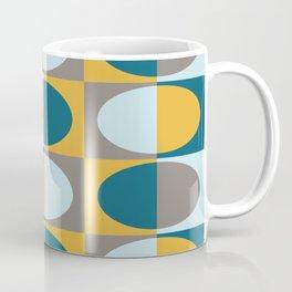 Retro MidCentury Oval pattern 2 Coffee Mug