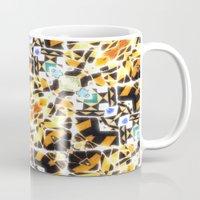 barcelona Mugs featuring Barcelona by kociara
