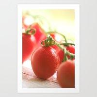 italian Art Prints featuring Italian tomatoes  by Tanja Riedel