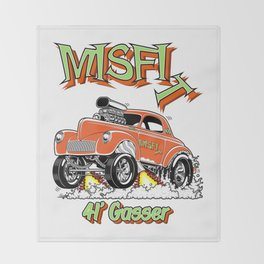 MISFIT- rev 3 Throw Blanket