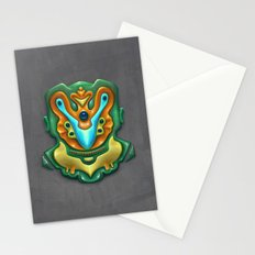 Summer Totem Green Stationery Cards