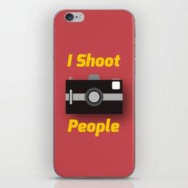 Photographer's Wordplay iPhone Skin