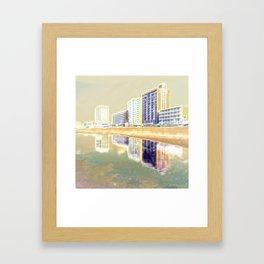 Oceanfront Reflections Framed Art Print