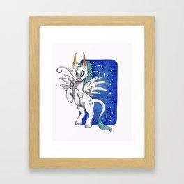 My Little Miyazaki - Haku (Spirited Away) Framed Art Print