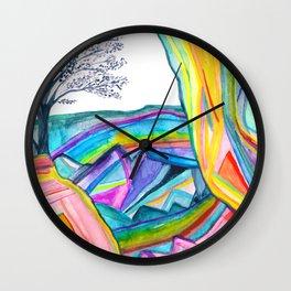 Rainbow Canyon Wall Clock