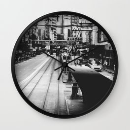 Canal Road West Wall Clock
