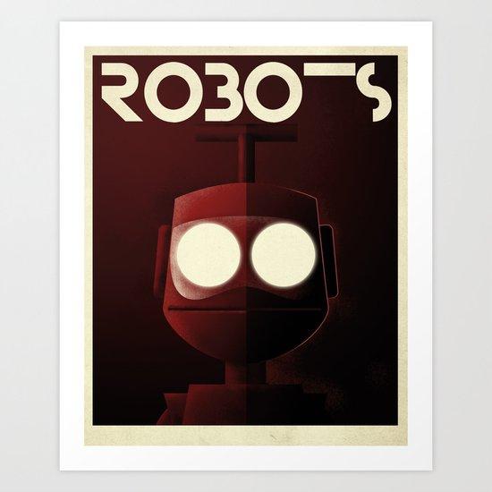 Robots - Nono Art Print