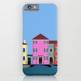 Isola di Burano, Italy iPhone Case