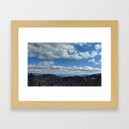 Blue Mountains Framed Art Print