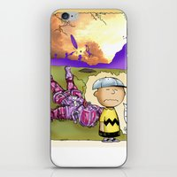 peanuts iPhone & iPod Skins featuring Peanuts  by Anand Brai