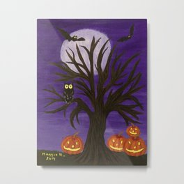 Halloween-2 Metal Print