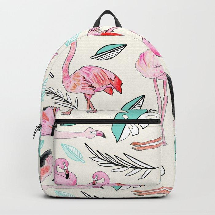 Flamingos Forever Backpack