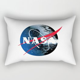 The Second NASA Death Star Rectangular Pillow