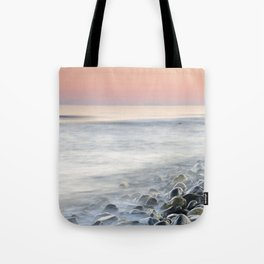 """""""Bright stones"""". Pink sunset Tote Bag"""