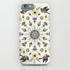 Blackbird Floral Mandala Slim Case iPhone 6s