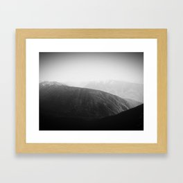 Hurricane Ridge Framed Art Print