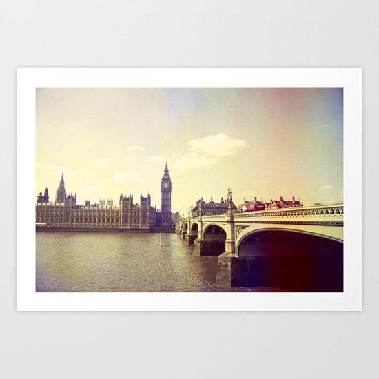 London Impressions II Art Print