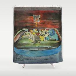 Joy Ride Shower Curtain