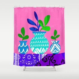 Still Life with Plants Shower Curtain