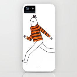 Walking iPhone Case