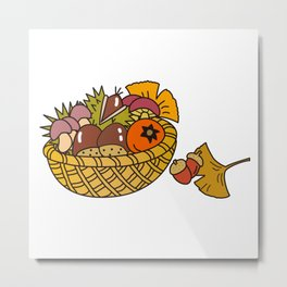 Taste of autumn Metal Print