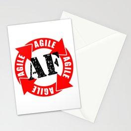 Agile AF Stationery Cards
