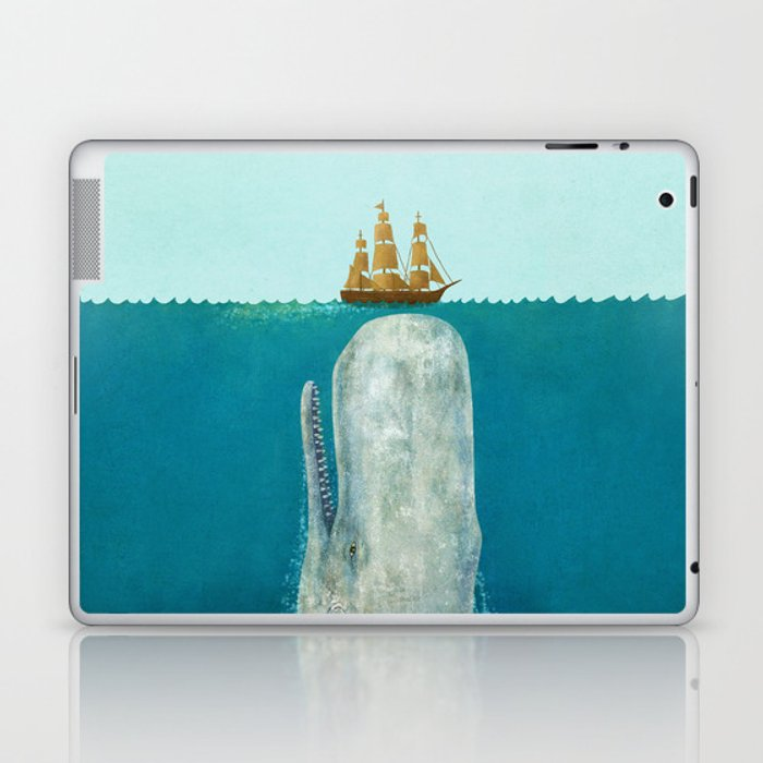 The Whale Laptop & iPad Skin