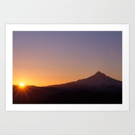Mountain Rise Art Print