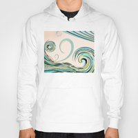 drink Hoodies featuring In the Drink by DebS Digs Photo Art