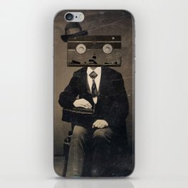 Faces of the Past: VHS iPhone Skin