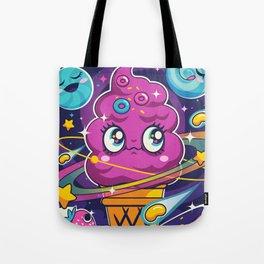 Sugar High: Cosmic Swirl Tote Bag