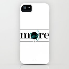Laugh More iPhone Case