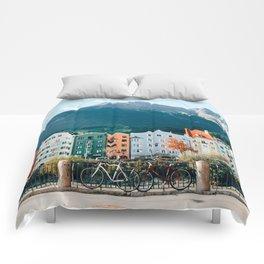 Crayola Houses | Innsbruck, Austria Comforters