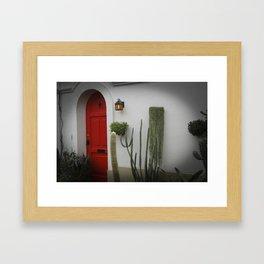 L'Hacienda à Montreal ou le Mexique  Framed Art Print