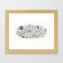 dummy island #2 Framed Art Print