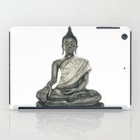 buddah iPad Cases featuring Buddah by Hollie B