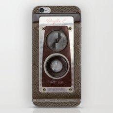 Vintage Duaflex Camera iPhone & iPod Skin