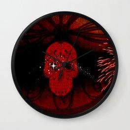 Skull Awakenings Wall Clock
