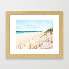 Dunes #1 Framed Art Print