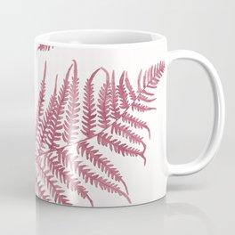 Pink Ferns Coffee Mug