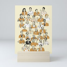 31 Characters From a Show About Nothing Mini Art Print